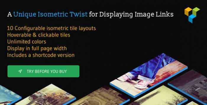 Isometric Image Tiles Shortcode for WPBakery Page Builder v1.6.1