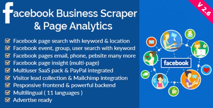 Facebook Business Scraper & Page Analytics v2 6 – Borntohell