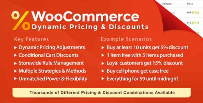 WooCommerce Dynamic Pricing & Discounts v2.2.7