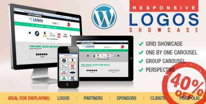 WordPress Logos Showcase v1.3.1.1 - Grid and Carousel