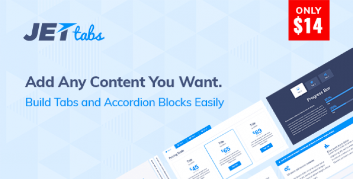 JetTabs v1.1.3 - Tabs and Accordions for Elementor Page Builder