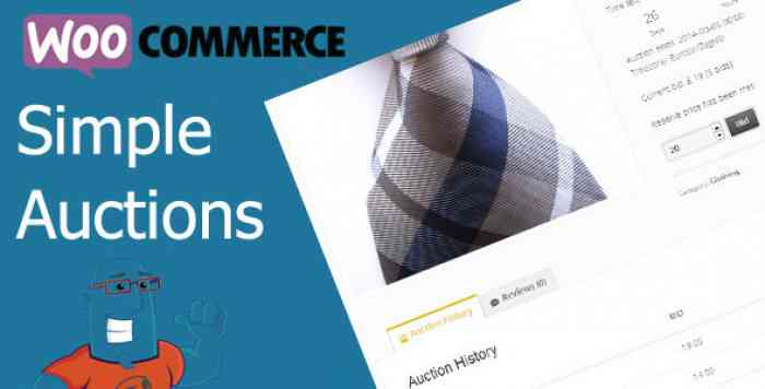 WooCommerce Simple Auctions v1.2.26 - WordPress Auctions