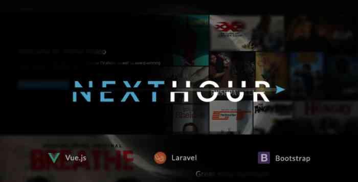 Next Hour v1.6 - Movie Tv Show & Video Subscription Portal Cms