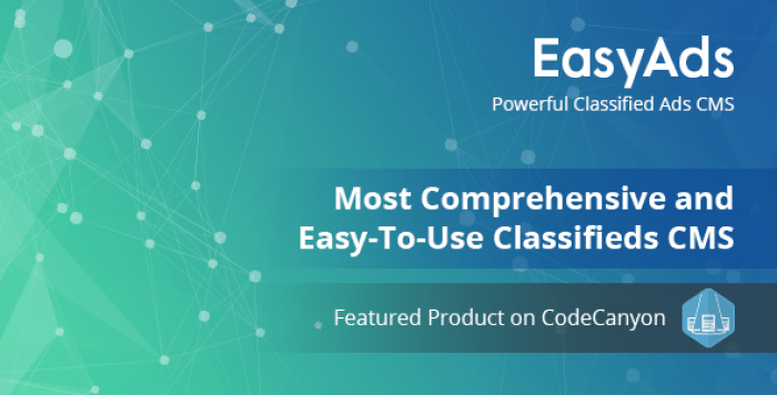EasyAds v1.5 - Powerful Classified Ads CMS - nulled
