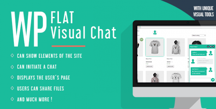 WP Flat Visual Chat v5.381