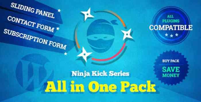 Ninja Kick Series v1.3.4 - All in One Pack