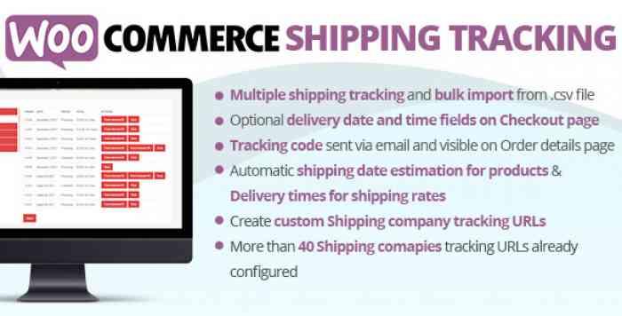 WooCommerce Shipping Tracking v17.9