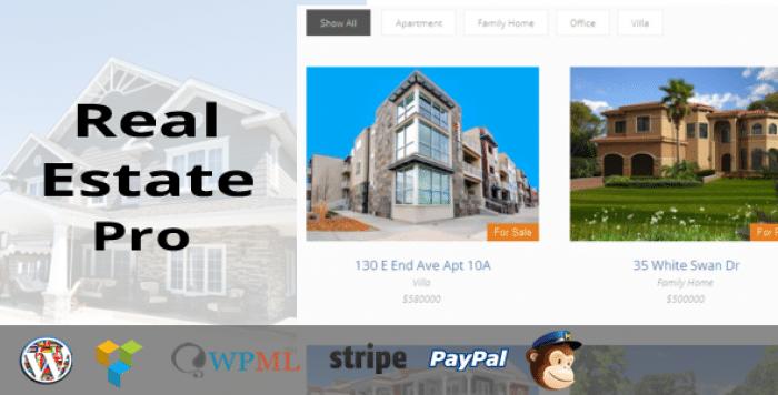 Real Estate Pro v1.4.2 - WordPress Plugin