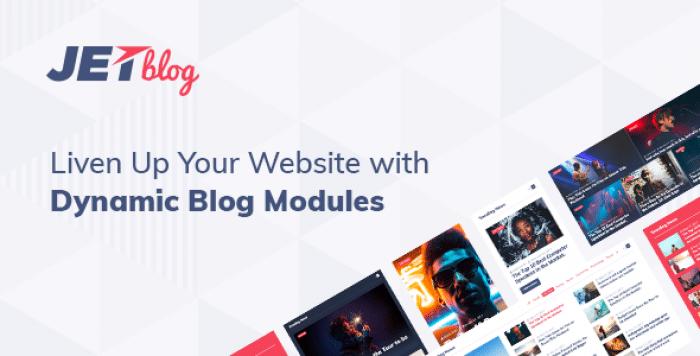 JetBlog v2.1.5 - Blogging Package for Elementor Page Builder
