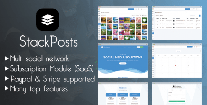 Stackposts v1.5 – Social Marketing Tool – nulled