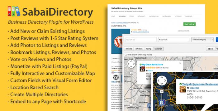 Sabai Directory for WordPress v1.4.4