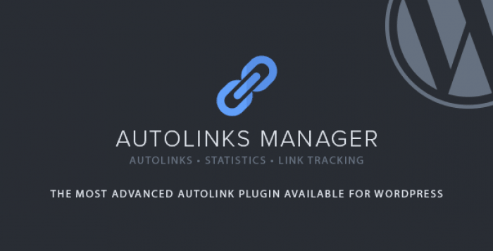 Autolinks Manager v1.11