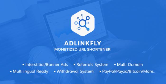 AdLinkFly v6.3.0 - Monetized URL Shortener - nulled