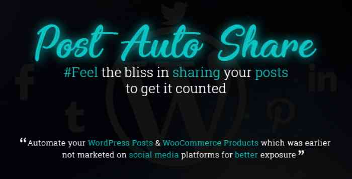 Post Auto Share v1.0.2