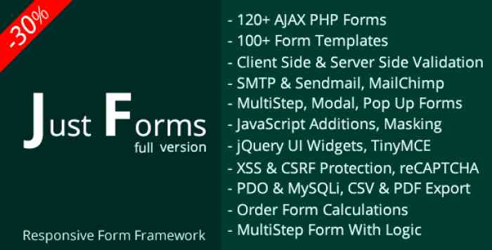 Just Forms full v2.4