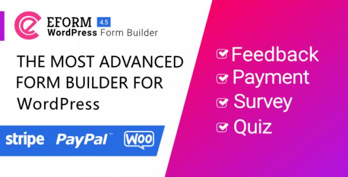 eForm v4.5.0 - WordPress Form Builder