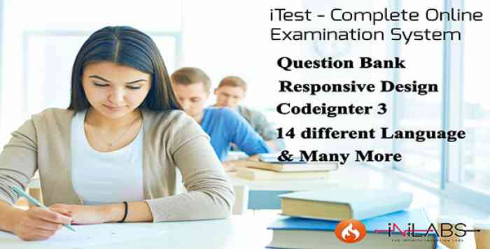iTest - Complete Online Examination System