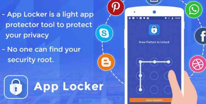 App locker - Protect data