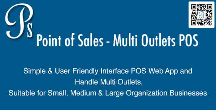 Point of Sales v3.1 - Multi Outlets POS