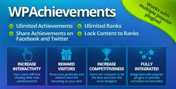 WPAchievements v8.11 - WordPress Achievements Plugin