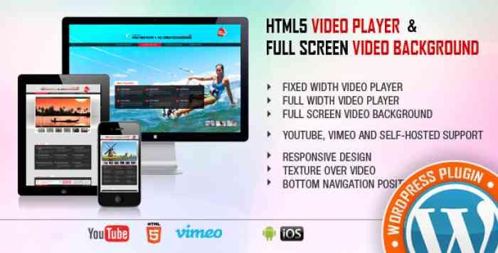 Video Player & FullScreen Video Background v1.8.5.2