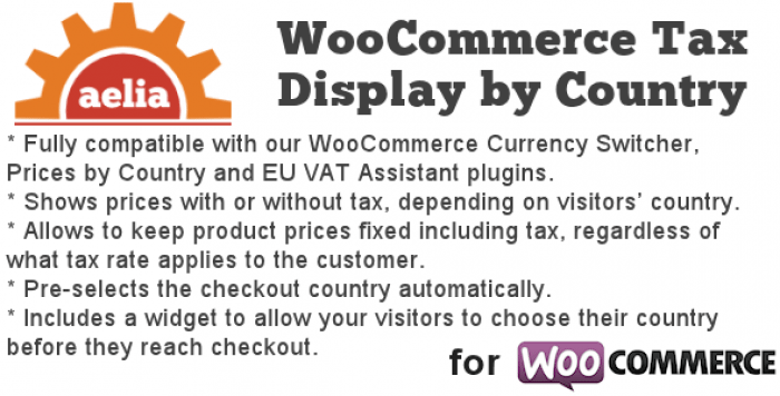 Tax Display by Country for WooCommerce v1.9.14.180324