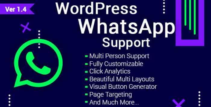 WordPress WhatsApp Support v1.4.4