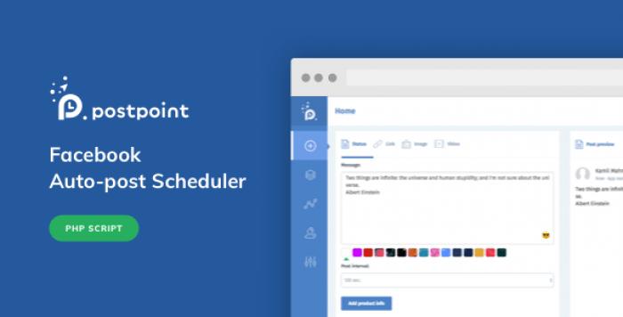 PostPoint v1.0.4 - Facebook Auto Post & Scheduler