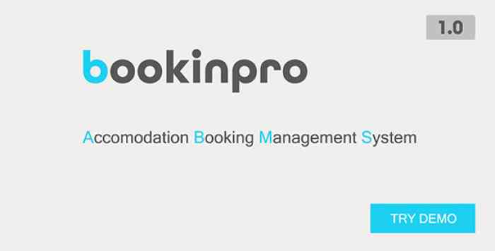 Bookinpro - Accomodation Booking Management System