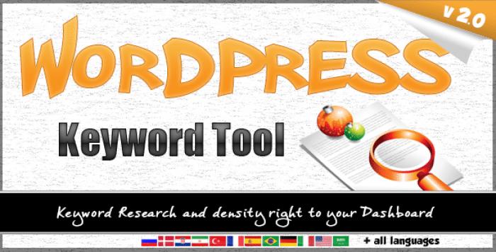 Wordpress Keyword Tool Plugin v2.3.1