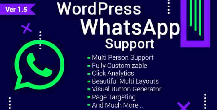 WordPress WhatsApp Support v1.5