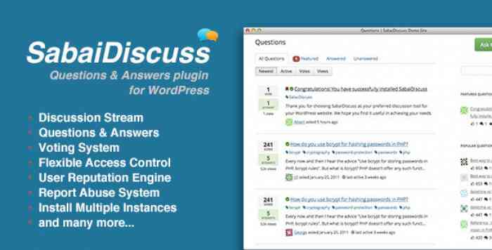 Sabai Discuss for WordPress v1.4.4