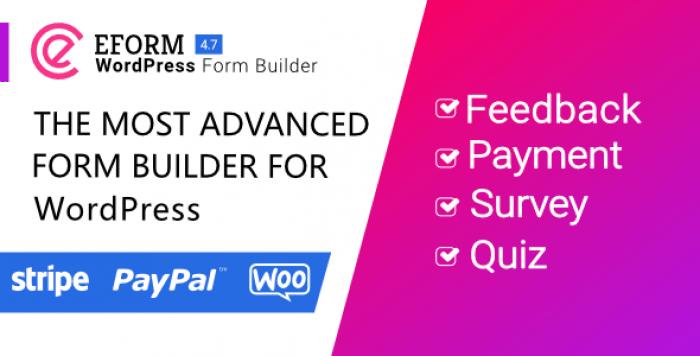 eForm v4.7.0 - WordPress Form Builder