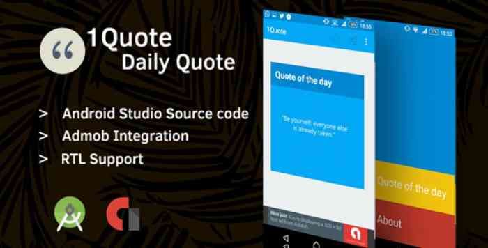1Quote - Android App Source Code
