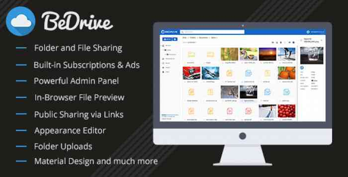 BeDrive v2.0.9 - File Sharing and Cloud Storage