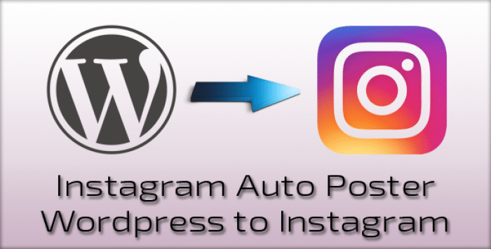 Instagram Auto Poster v2.0.6 - WordPress to Instagram