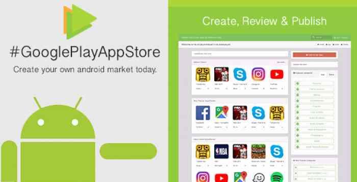 Google Play App Store [CMS] v1.6