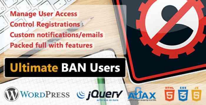 WP Ultimate BAN Users v1.5.2