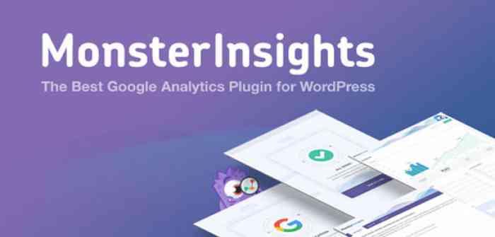 MonsterInsights Pro v7.0.18 - Google Analytics Plugin