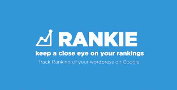 Rankie v1.6.3 - WordPress Rank Tracker Plugin