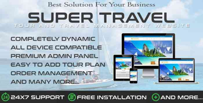Travo - Travel Agency & Tourism Management
