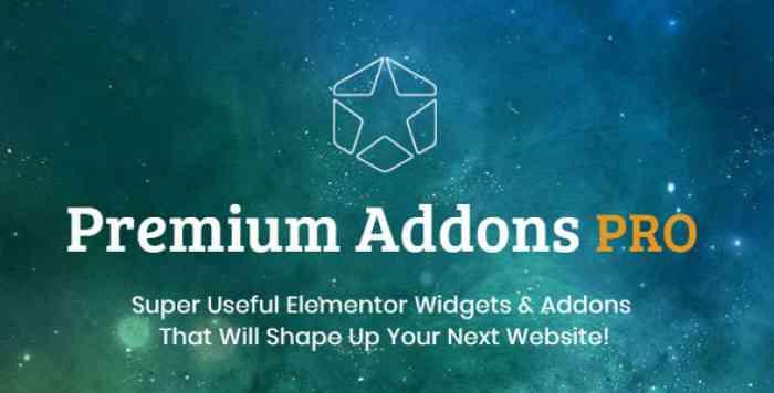 Premium Addons PRO v1.2.1