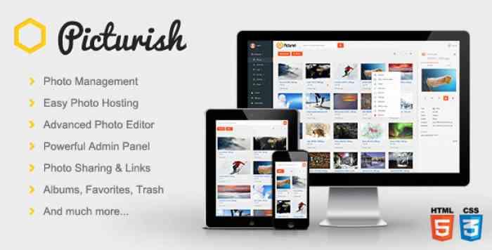 Picturish v1.4.1 – Image hosting, editing and sharing