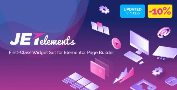 JetElements v1.14.2 - Addon for Elementor Page Builder
