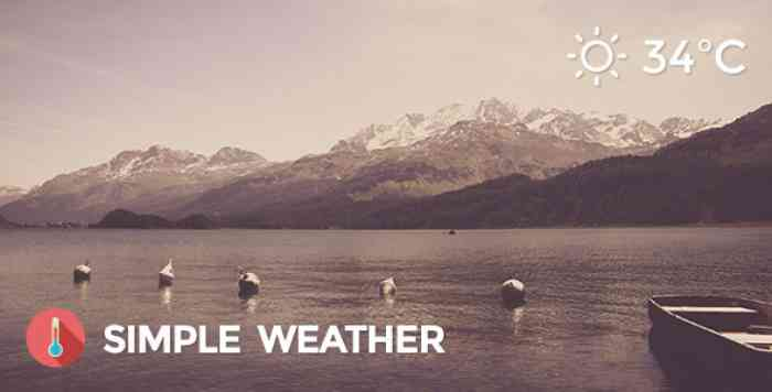 Weather v4.3.2 - Simple WordPress Shortcode & Widget