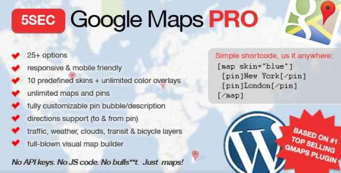 5sec Google Maps PRO v1.43