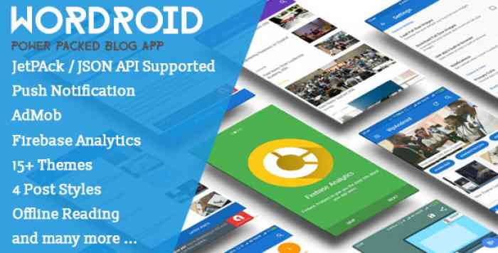 WorDroid v2.3 – Full Native WordPress Blog App