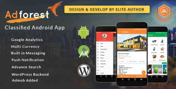AdForest v1.8.1 - Classified Native Android App