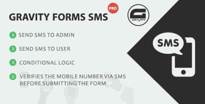 Gravity Forms SMS Pro v1.2.0