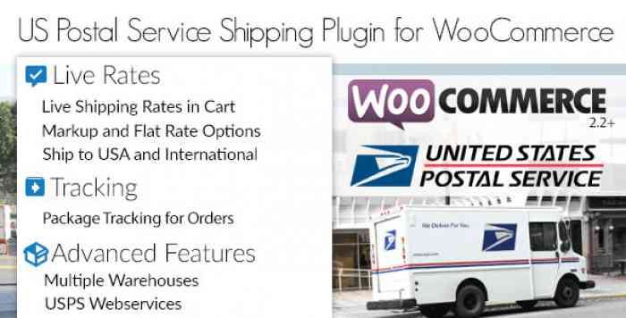 USPS Woocommerce Shipping Plugin v1.3.5
